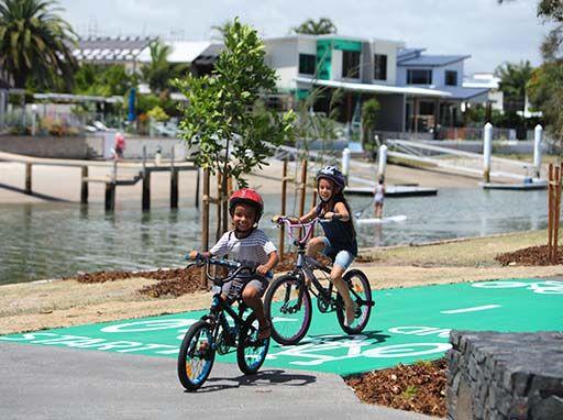 Mooloolaba to Minyama Separated Bikeway - great family and kids bike rides on the Sunshine Coast