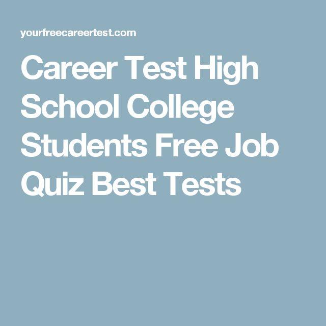 Best 25+ Career aptitude test free ideas on Pinterest Career - free career aptitude test