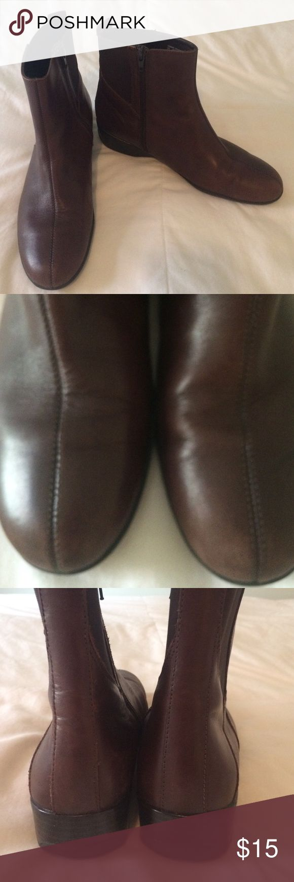 Ankle boots Hush Puppies Good condition and comfy. Coffee bean color. Hush Puppy brand Hush Puppies Shoes Ankle Boots & Booties