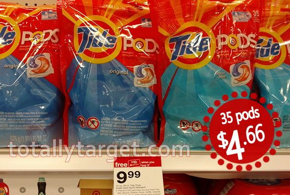 New $2/1 Tide Pods Coupon = 35ct for $4.66 at Target