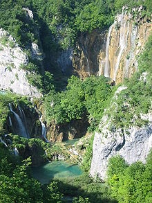 Duruitoarea waterfall in Ceahlau Romania