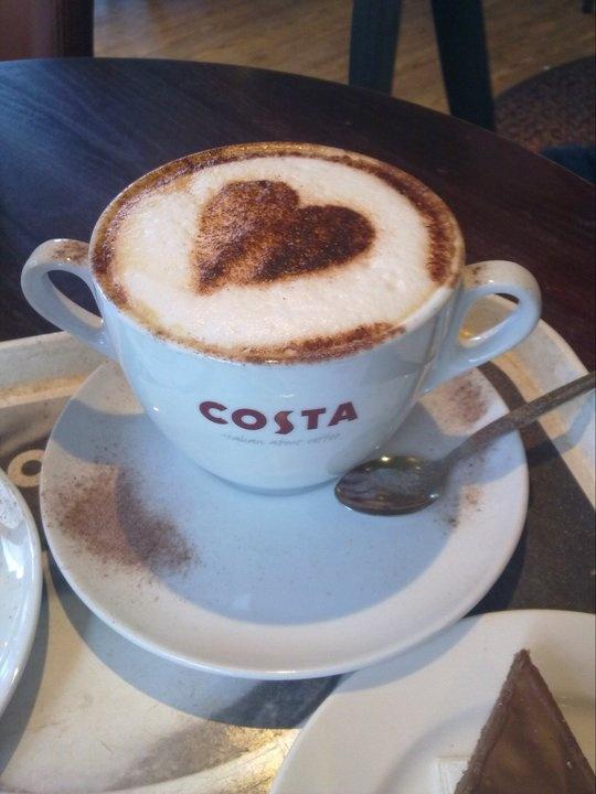 costa coffee @costa