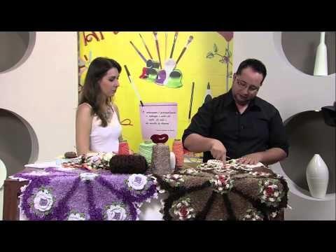 Crochê - Tapete Peludo - Parte 02 - YouTube