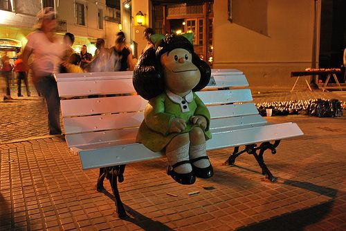 Mafalda te espera en #SanTelmo