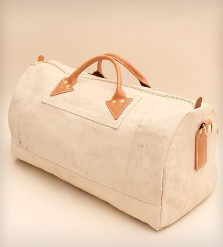 Vintage Fabric Duffel Bag by W Durable Goods on Scoutmob Shoppe
