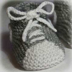 photo tricot mod�le tricot chausson b�b� gratuit