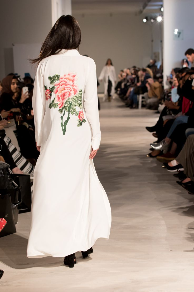 Our new design as featured on the catwalk of London Modest Fashion Week 2017. Coming soon to feradje.com