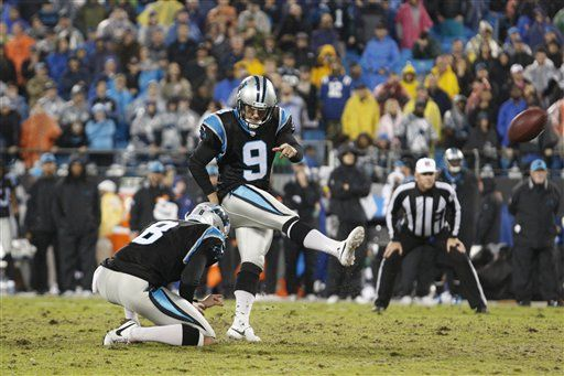 Photos:    The Indianapolis Colts play the Carolina Panthers on Monday Night Football at the Bank of America Stadium.