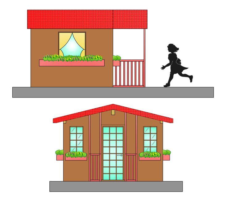 71 best abitazioni planimetrie e disegni images on pinterest for Disegni cottage e planimetrie