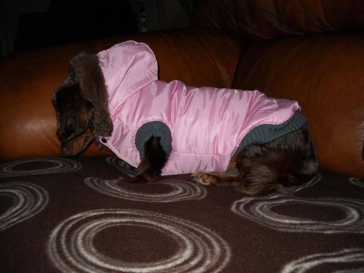 Pink Winter Coat