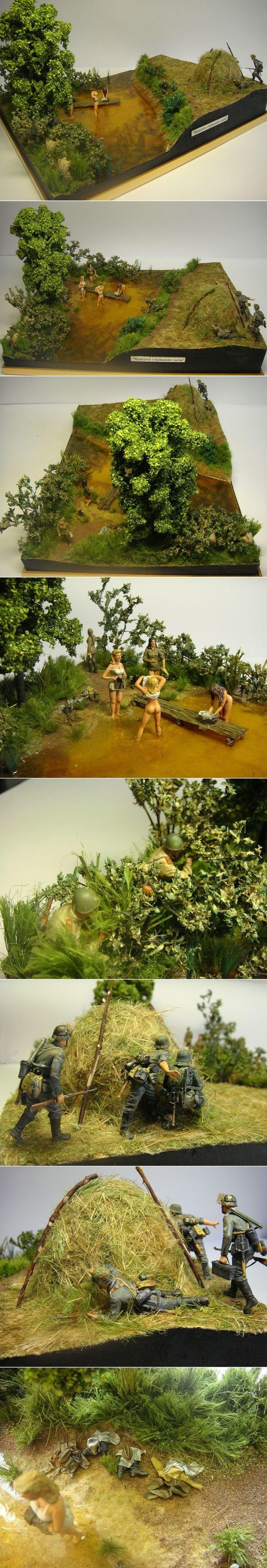 It's a trap! Dioramas Militares (la guerra a escala).