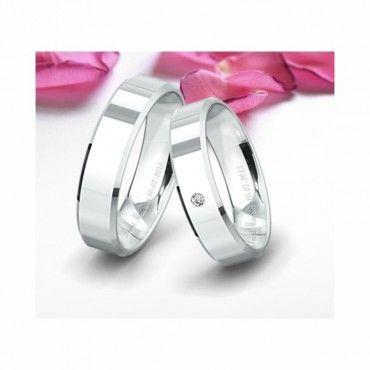 Δείγμα από βέρες γάμου σε λευκόχρυσο Προφίλ 8 της συλλογής Classic της Saint Maurice | Βέρες γάμου λευκόχρυσες Saint Maurice ΤΣΑΛΔΑΡΗΣ στο Χαλάνδρι  #SaintMaurice #βερες #γαμου #λευκοχρυσος #rings