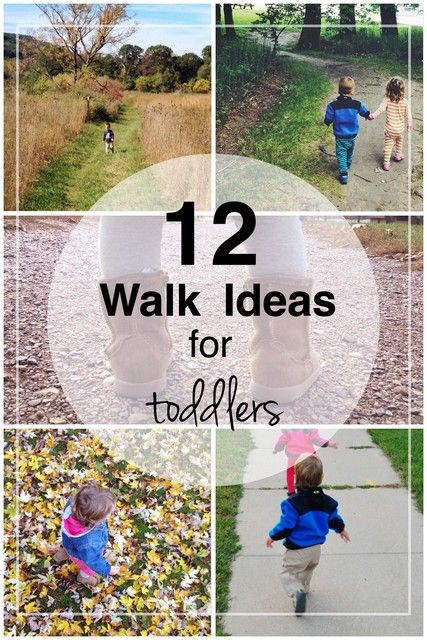 12 Walk Ideas for Toddlers