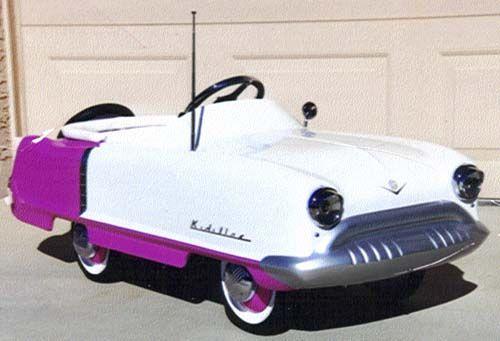 Pedal car www.pinkcarryon.com
