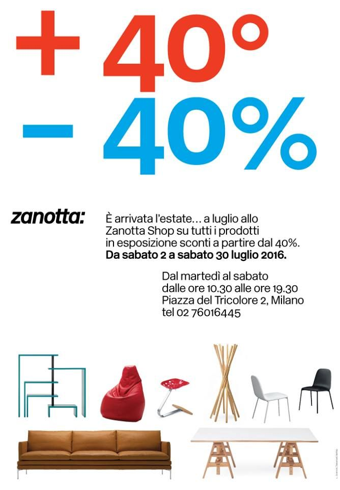 Dove, come e quando Summer sale da #Zanotta