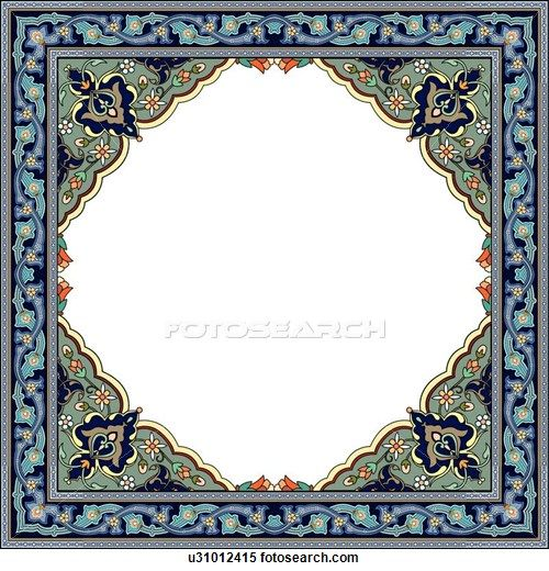 Arabesque Designs - stock illustration clip art. Buy royalty free clipart images on disc by Lushpix Illustration.