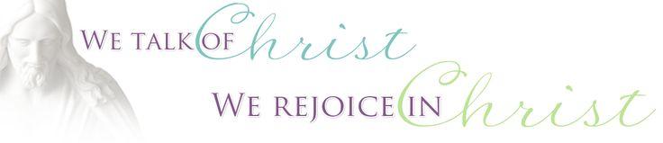 We Talk of Christ, We Rejoice In Christ: Easter Crafts About Christ