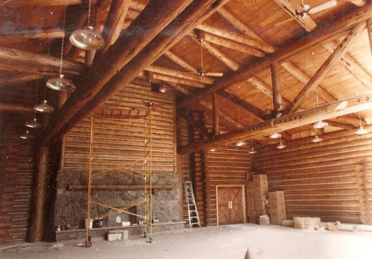 Big Trusses Log Truss Timber Pinterest Logs
