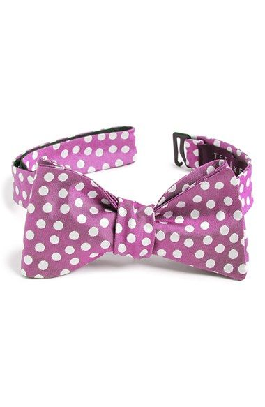 Men's Ted Baker London 'Tosses Dots II' Silk Bow Tie