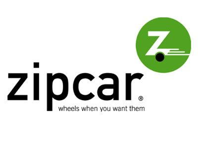 Lex likes Zipcar's font and symbolic logo. She doesn't like them placed together, though. It's too much.