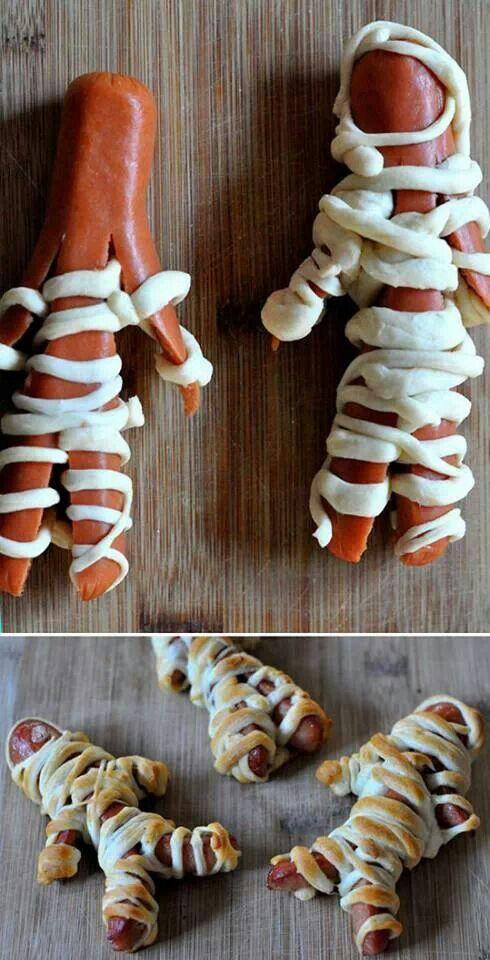 Cute, easy kid Halloween snack★