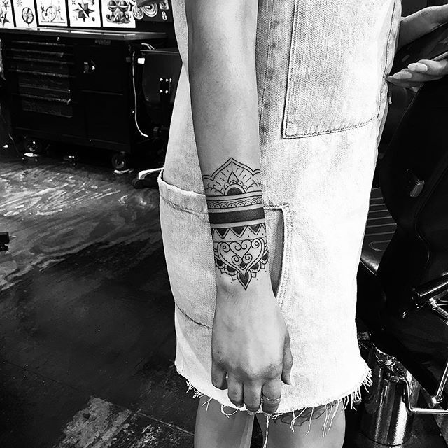 Wristband Tattoo