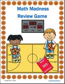 Standards: 3.OA.4, 3.OA.6, 3.OA.7, 3.OA.9, 3.NBT.1, 3.NF.1, 3.NF.2, 3.NF.3, 3.MD.2          Do you need a fun, challenging review of 3rd grade math standards? Are you looking for fun test prep activities? Look no more! Play Math Madness and Review 3rd Grade Standards.