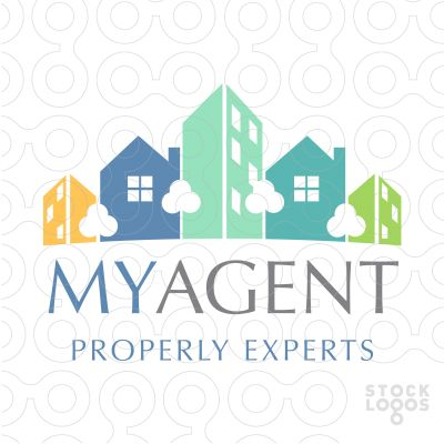 19 best real estate agent logos images on pinterest real for Apartment logo inspiration