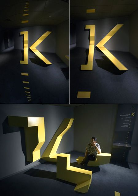 Kantar japan reception area by Kwas