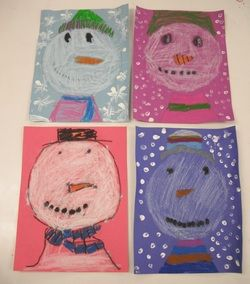 First Grade art ideas. Lots of one lessons that can be finished in one class time.  Free.