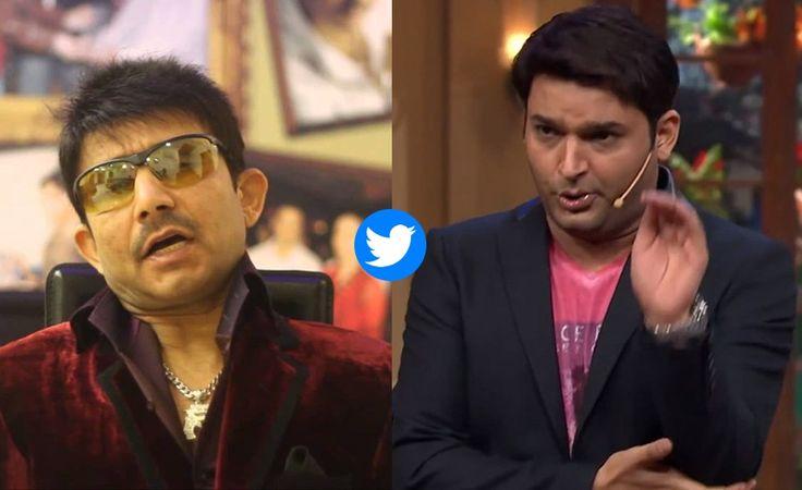 Fight between Kapil Sharma and Kamaal R Khan on twitter
