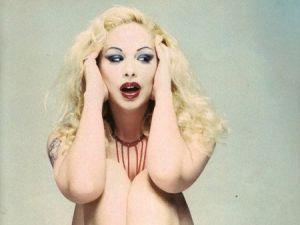 90's Greek transgender model Tzeni Xeiloudaki