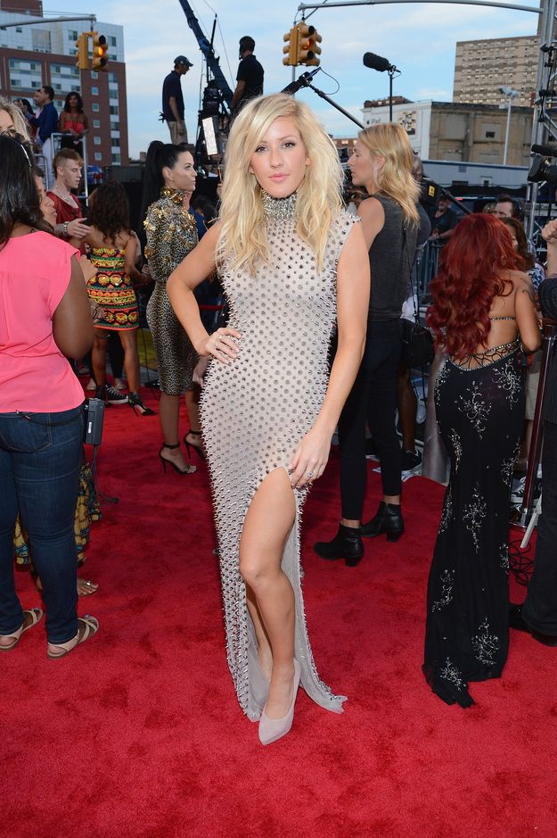 Ellie Goulding at the VMAs