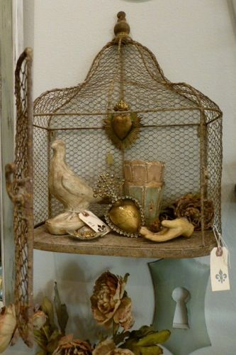 wall mount bird cage...love...