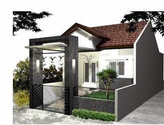 Desain Kanopi Rumah Minimalis Modern