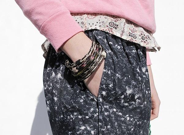 ecuadorian horsehair bracelet.