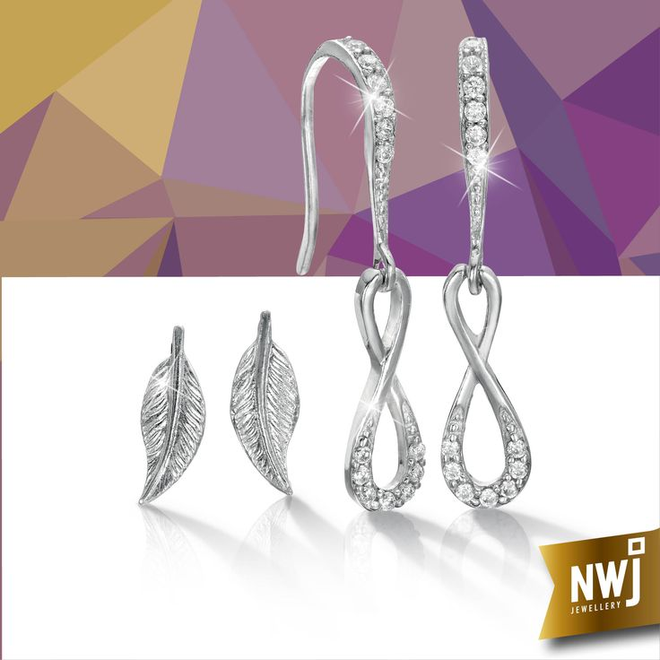 Our Silver collection is always 35% off. Our silver feather earrings are R199 and our CZ and silver infinity drops are R499