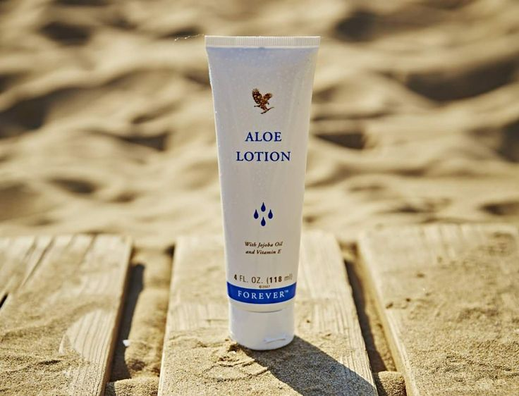 Facebook Post – Aloe Lotion great for dehydrated skin
