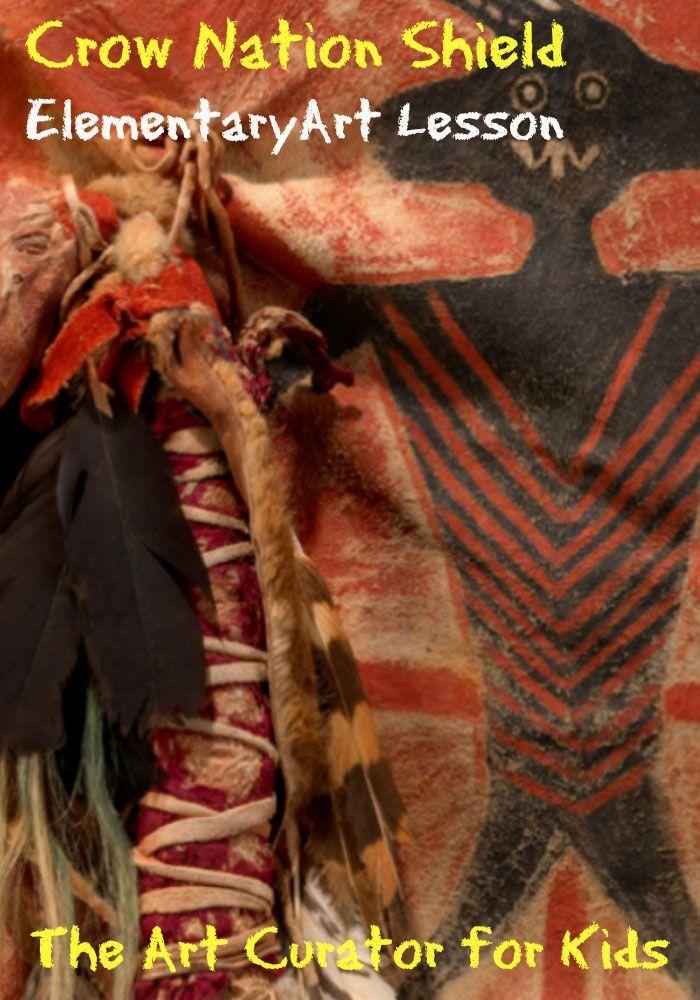 Crow Nation Shield Art Activity