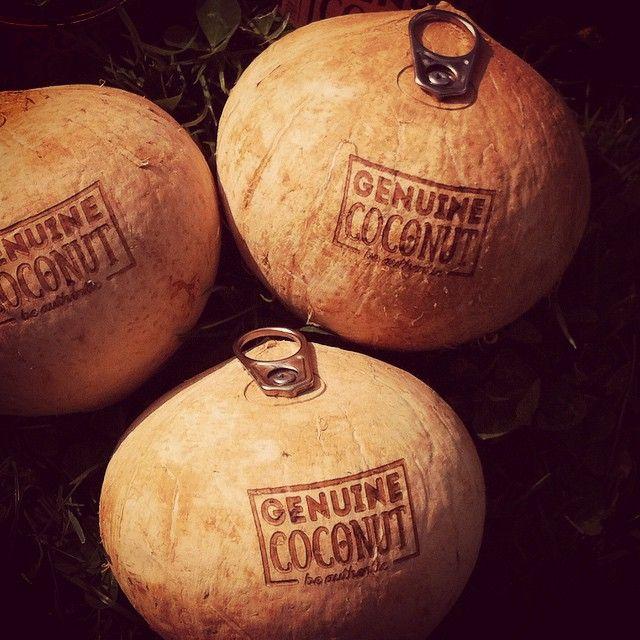 No hay dos sin tres... #genuinecoconut