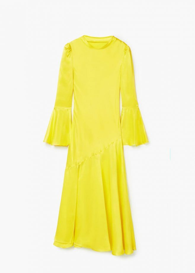 Mango silk yellow maxi, £169.99