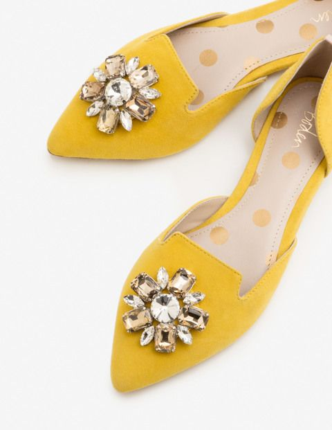 4a05571de65d Leah Jewelled Flats ♥♥♥