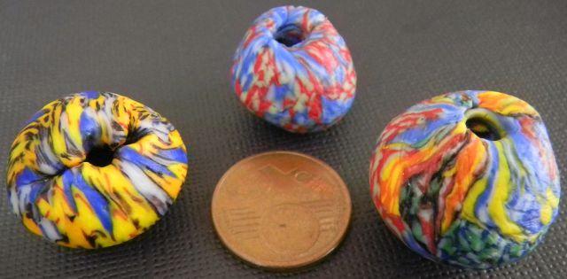 Fantastische kleuren; deze Afrikaanse kralen.