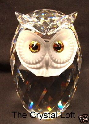 giant swarovski owl - would love to add him to my collection!