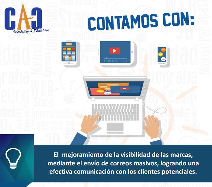 Te damos más porque contamos con más en CAC Marketing & Publicidad. #Mailing