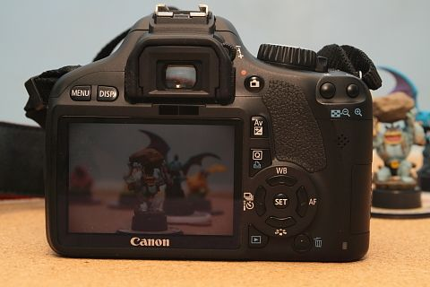 Canon EOS 550D camera