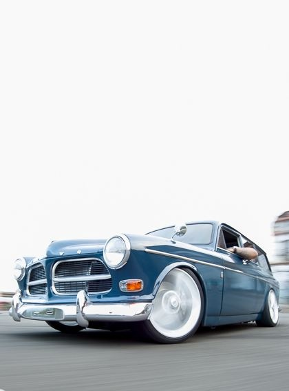 Great project Volvo in Lowered Lifestyle.  Posted 1/9/13.