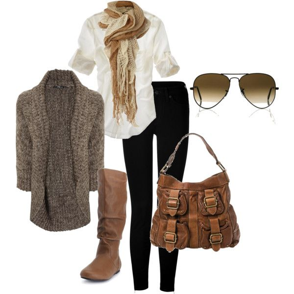 easy neutrals, created by #bradierenee on #polyvore. #fashion #style Jane Norman #Madewell