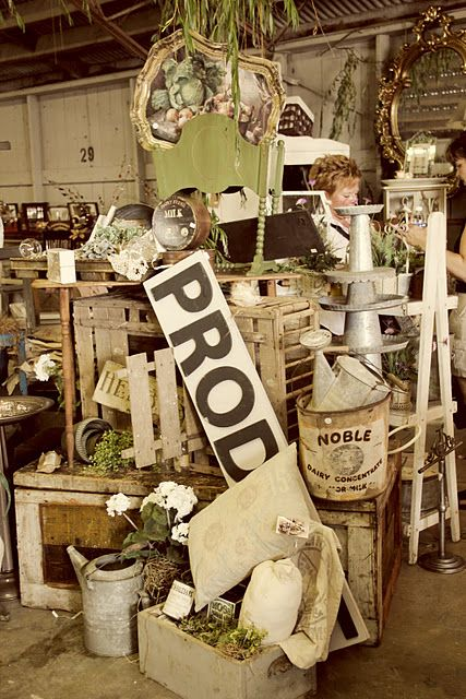 17 Best Images About Booth Displays Flea Market Ideas On