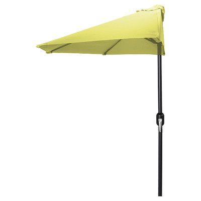 Jordan Manufacturing 9' Half Market Umbrella & Reviews   Wayfair